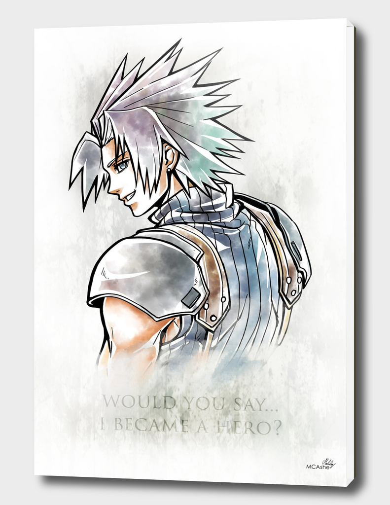 Zack Fair Artwork ( Final Fantasy VII - Crisis Core)