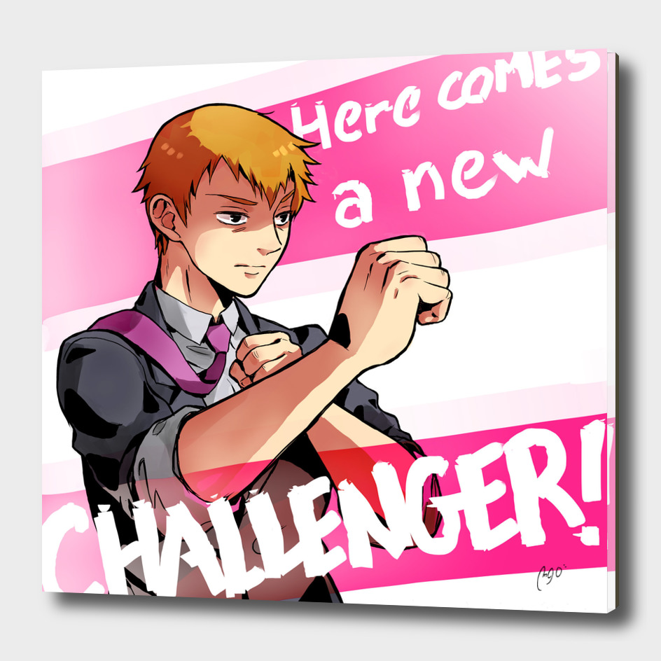 Here comes a New Challenger