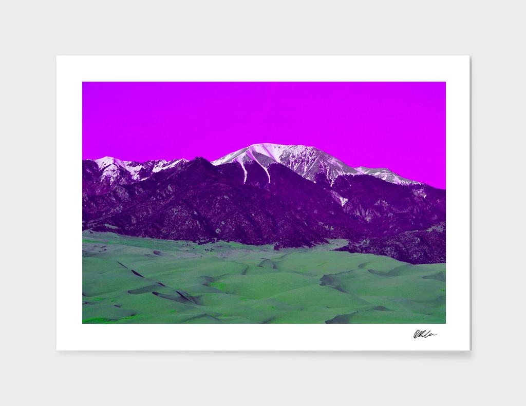 Pink Sky Mountain