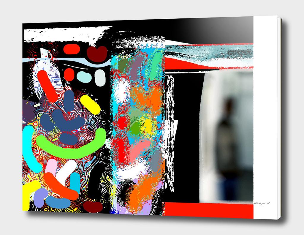 Artist's Reflection  03082015  GJAM Dubai  UAE