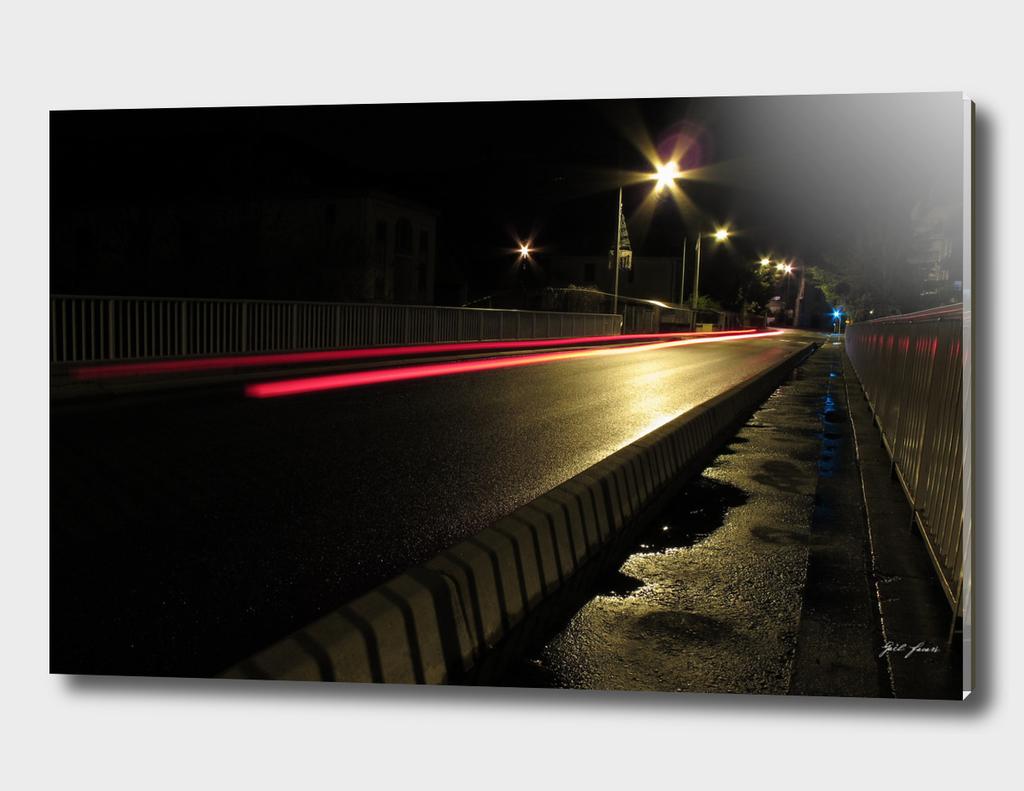 roaming around at night