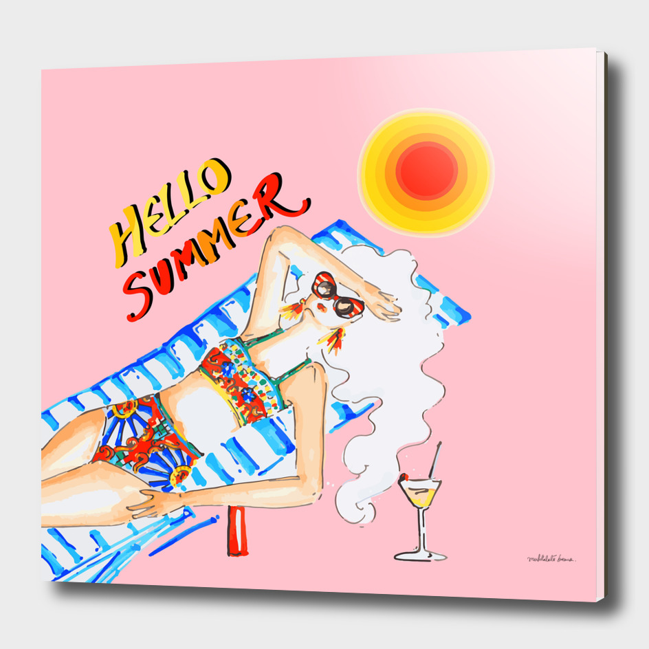 Hello Summer ( Pink )