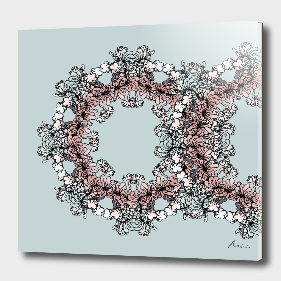Mandala Flower – Tília Composition