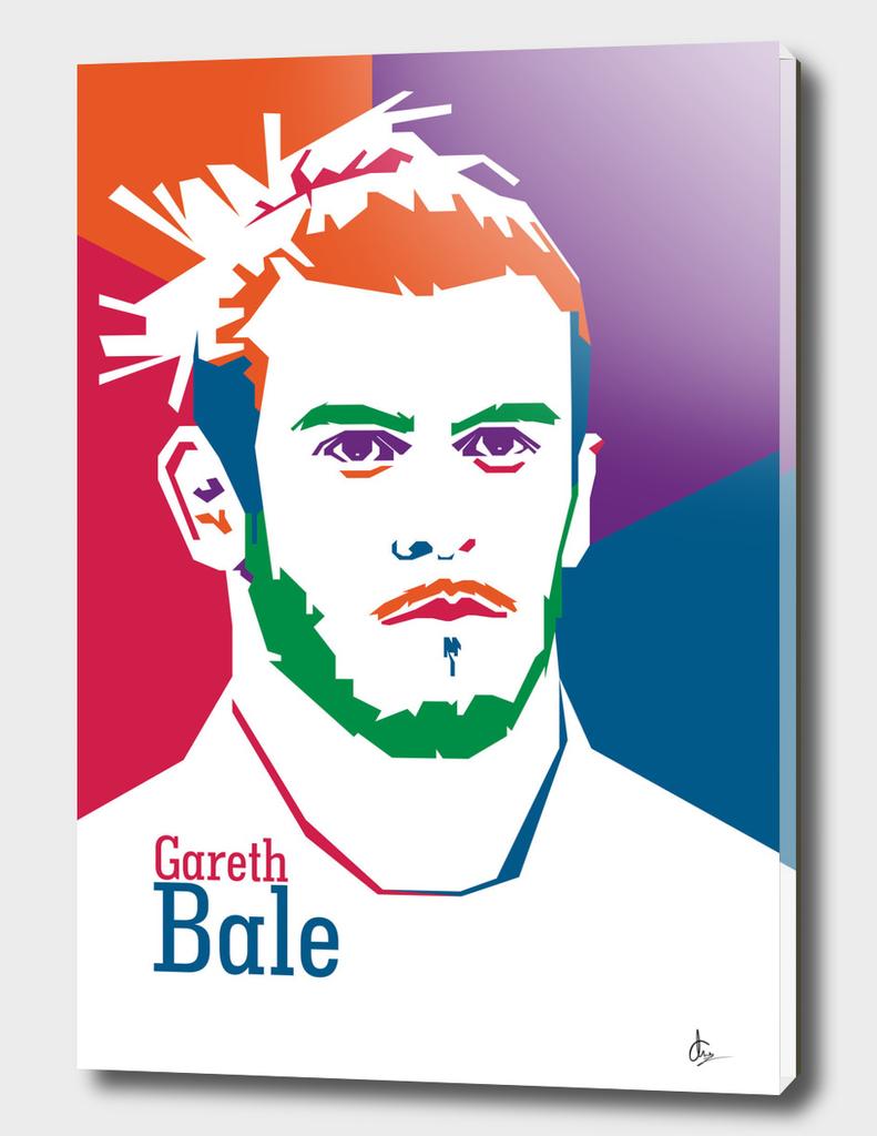 Pop Art Gareth Bale