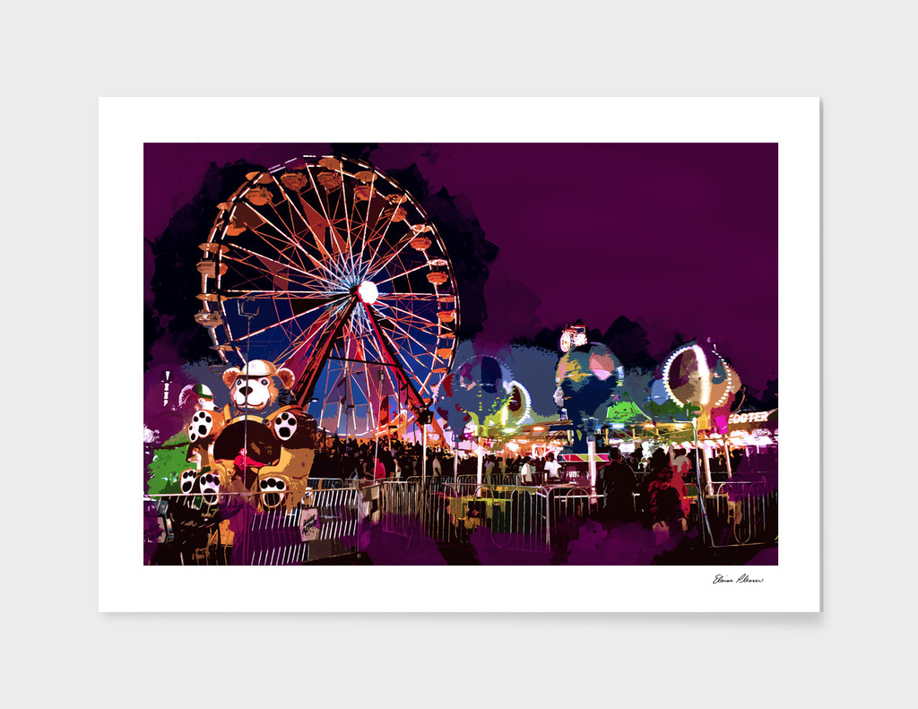 Bright Lights and Fun at the Carnival