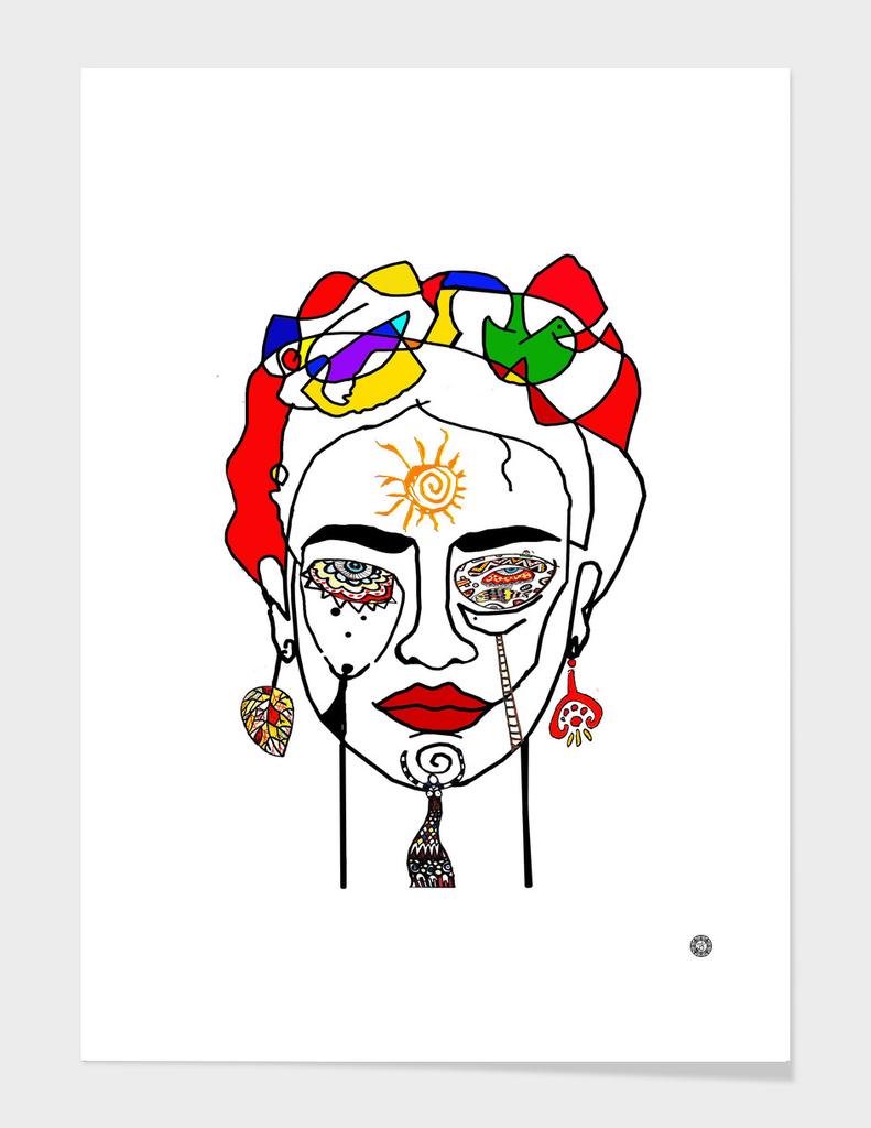 move like Frida Kahlo