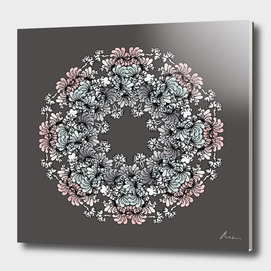 Mandala Flower – Genciana