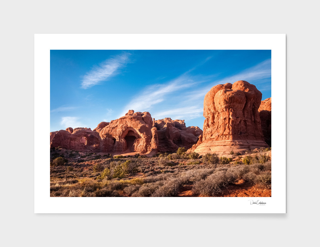 Natural Monuments in Arches National Park