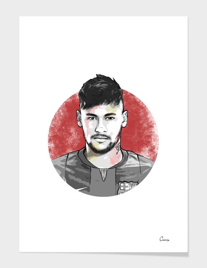 Neymar Portrait