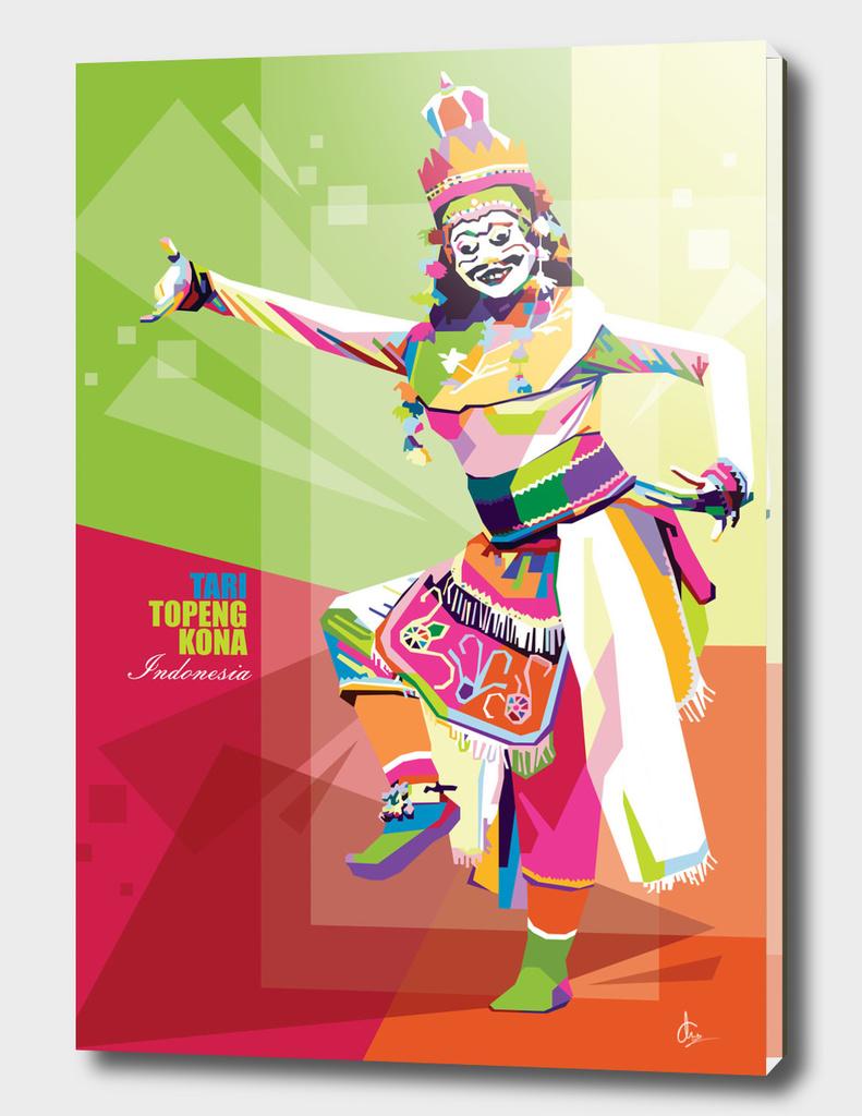 TOPENG KONA DANCE - INDONESIAN CULTURE