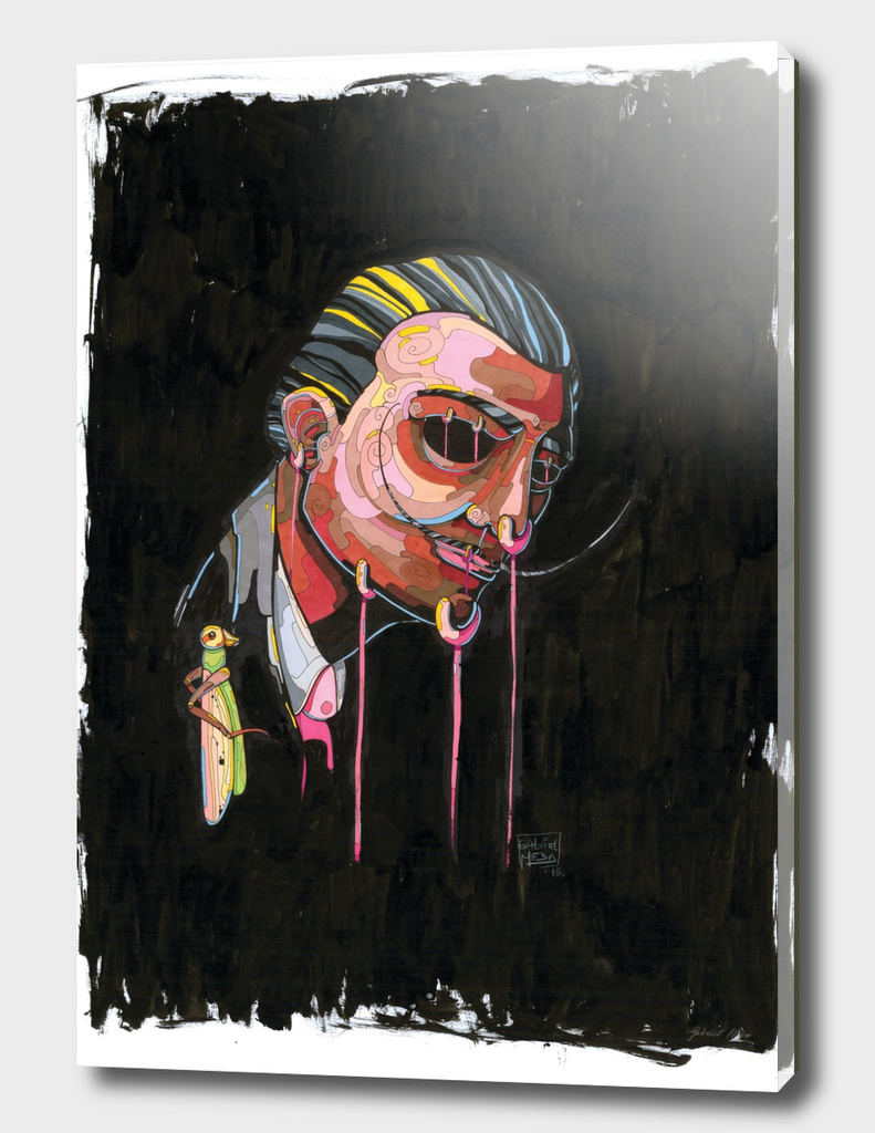 Salvador Dalí, retrato de su autorretrato