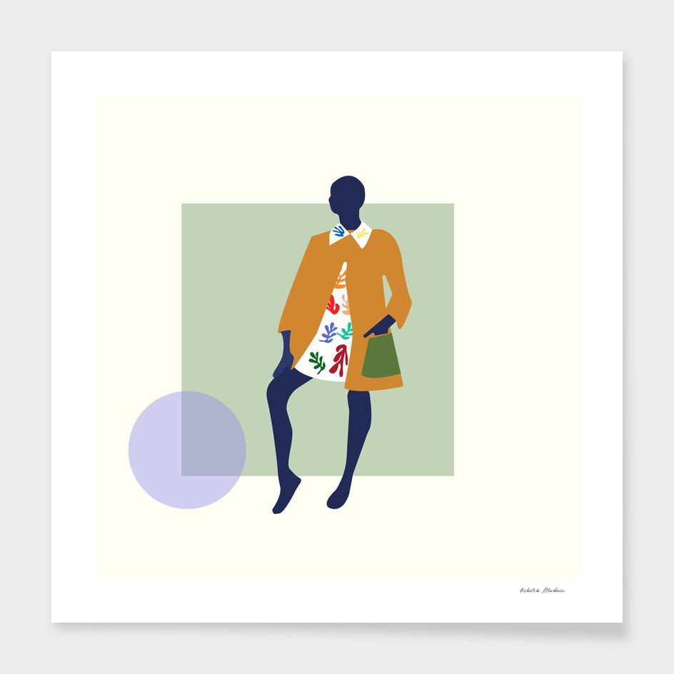Matisse inspired dress