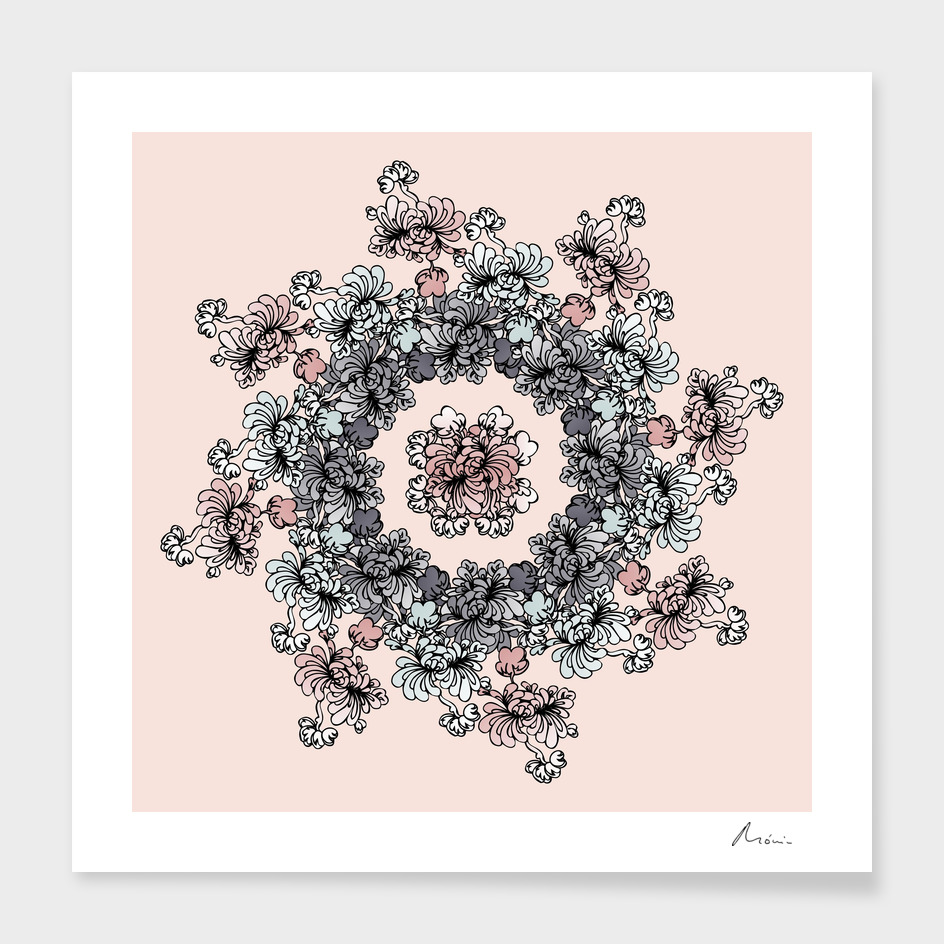 Mandala Flower – Açucena