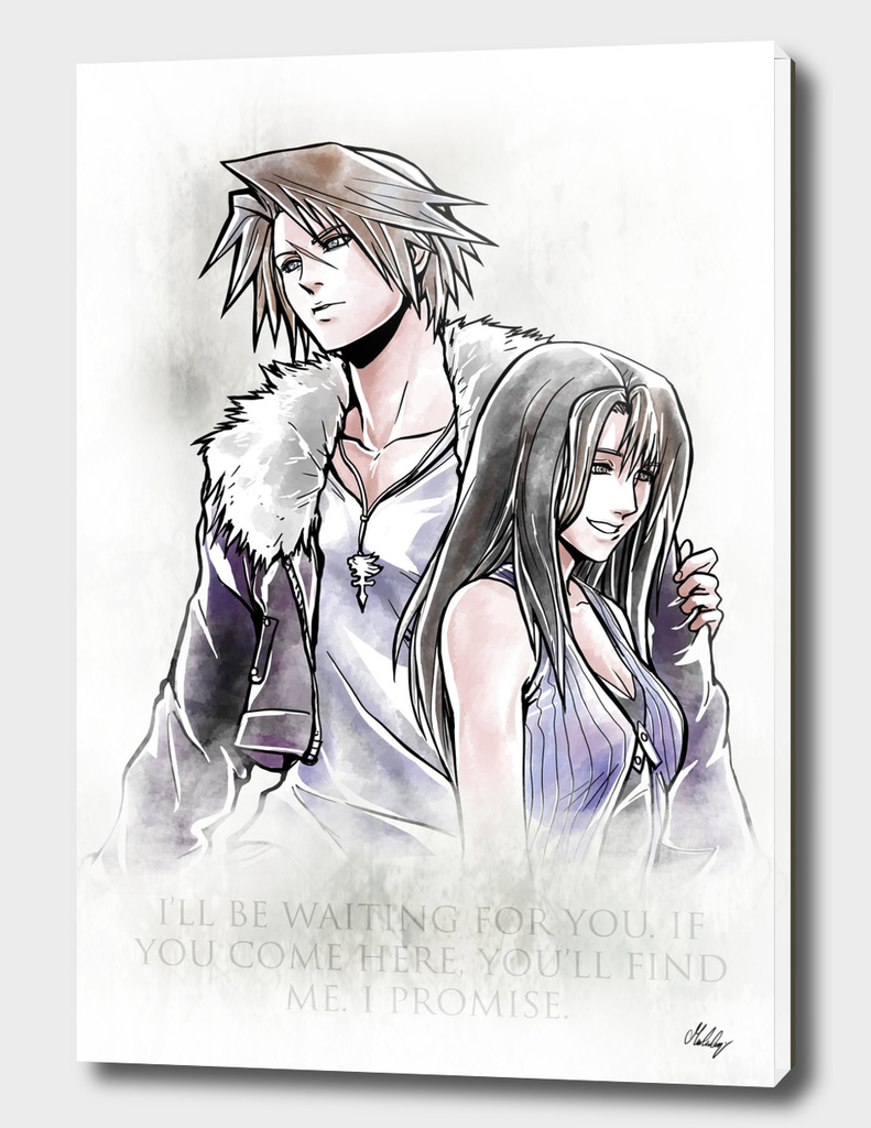 Rinoa / Squall Artwork Final fantasy VIII