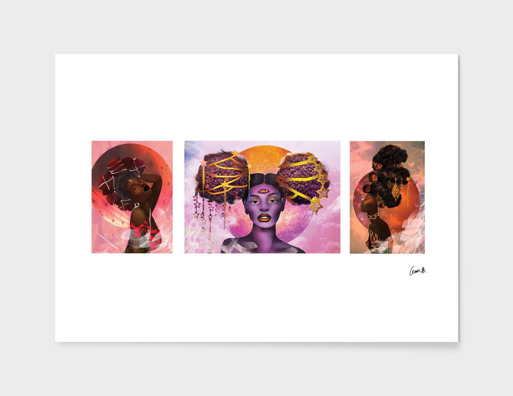 The Orishas (Triptych)