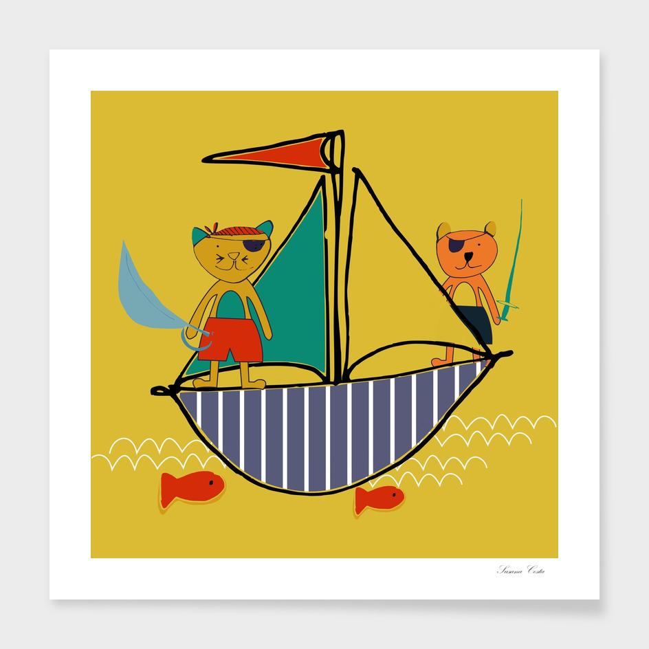 pirates yellow