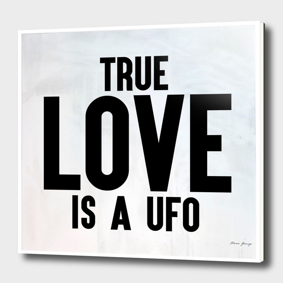 true love is a ufo