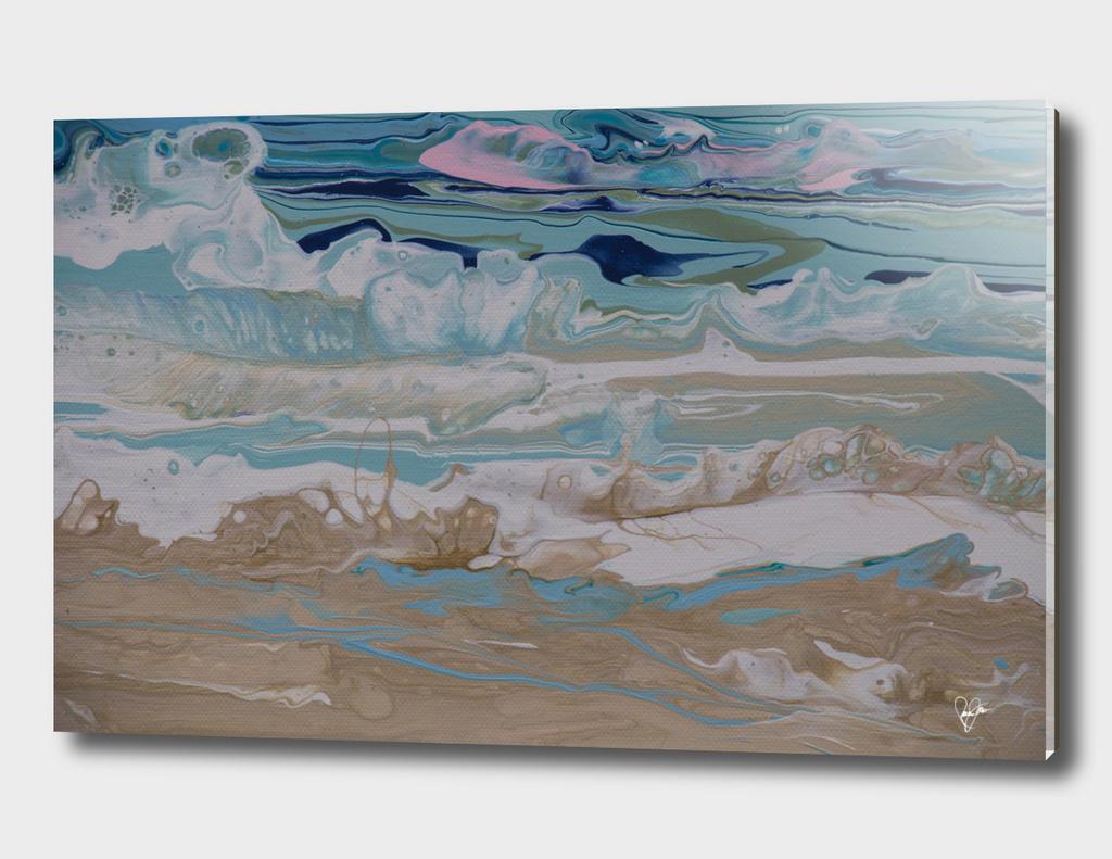 shore line wave