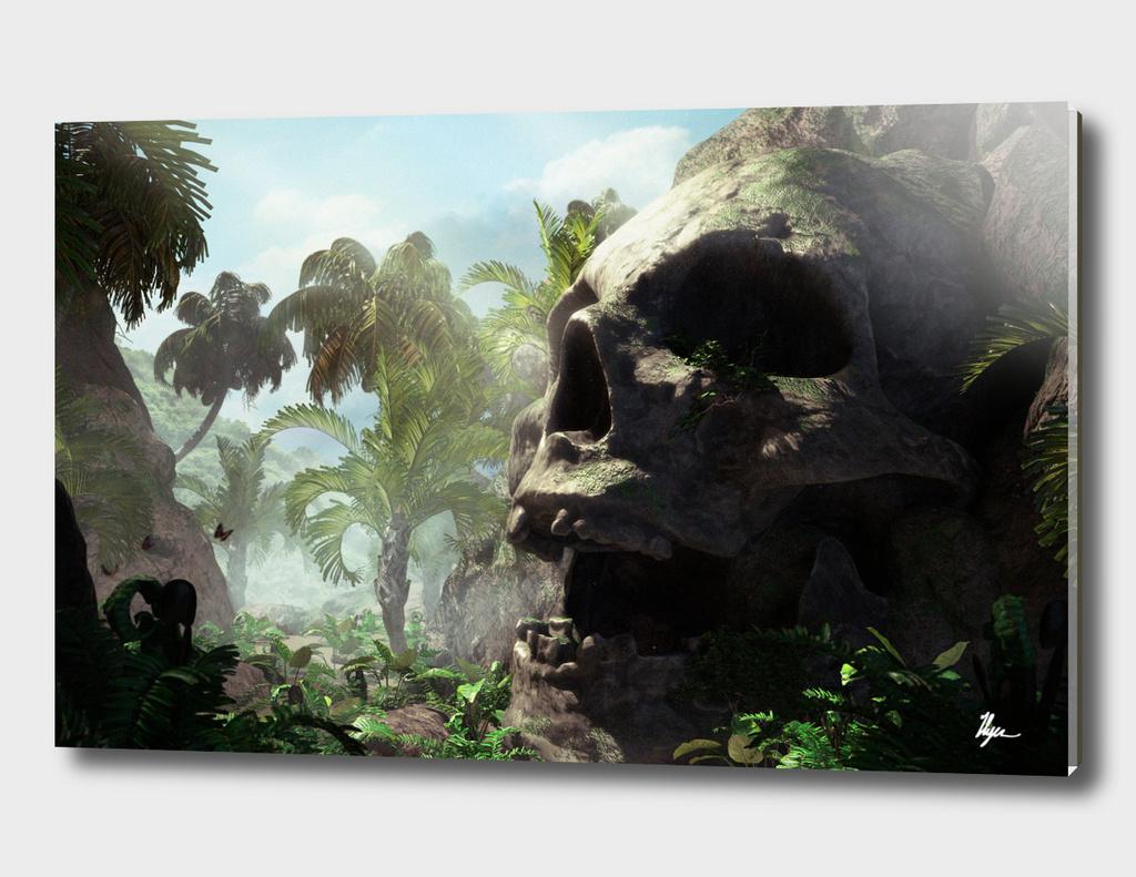 The giant skull