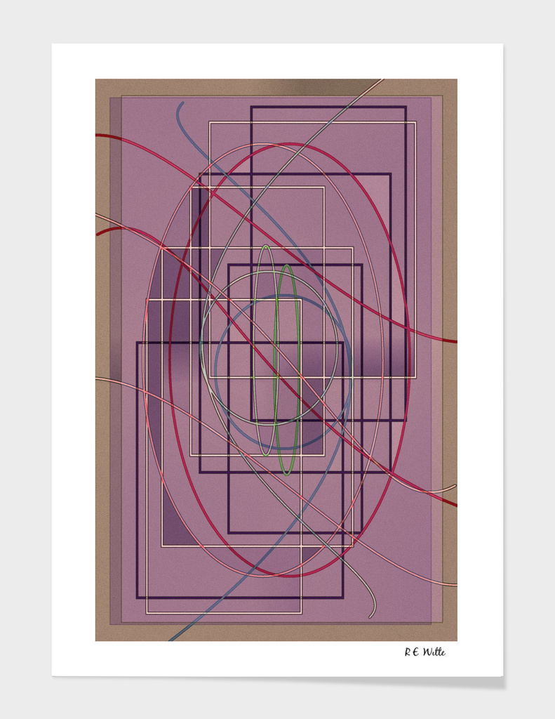 Violet Geometric