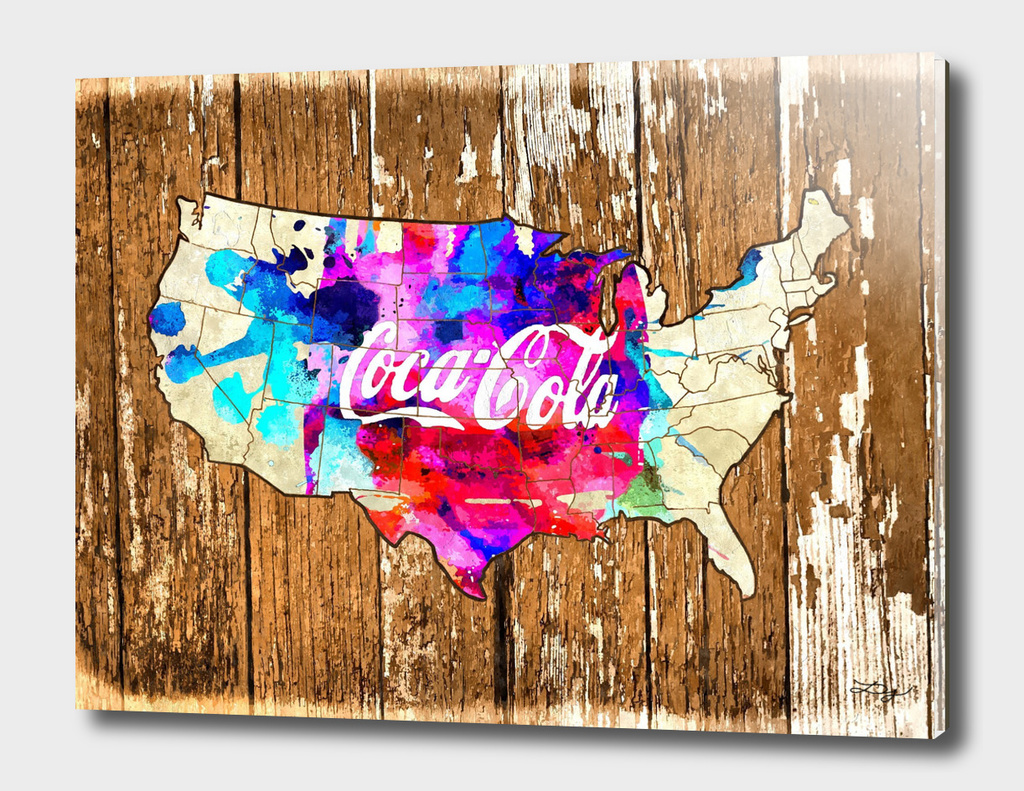 Coca-Cola US Map