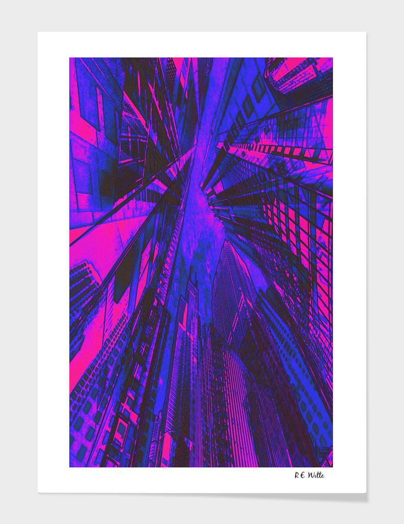 Twilight Neon City