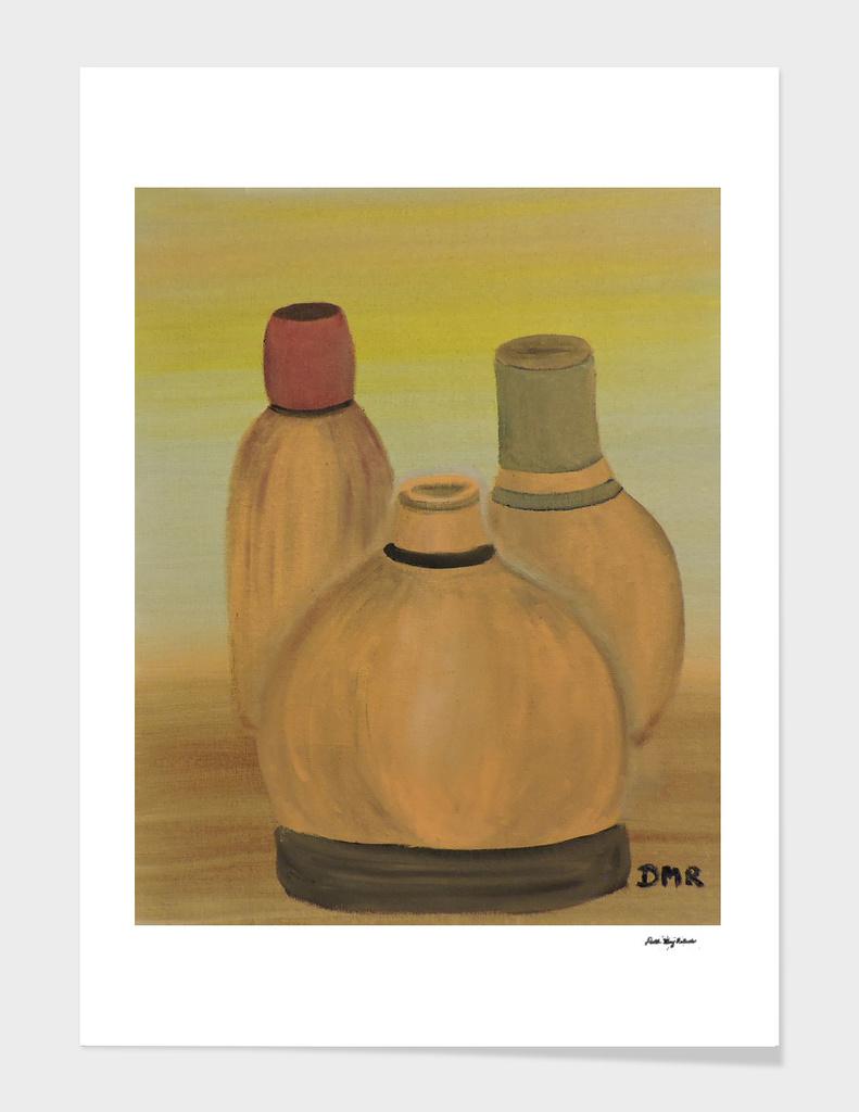 Clay Bottles