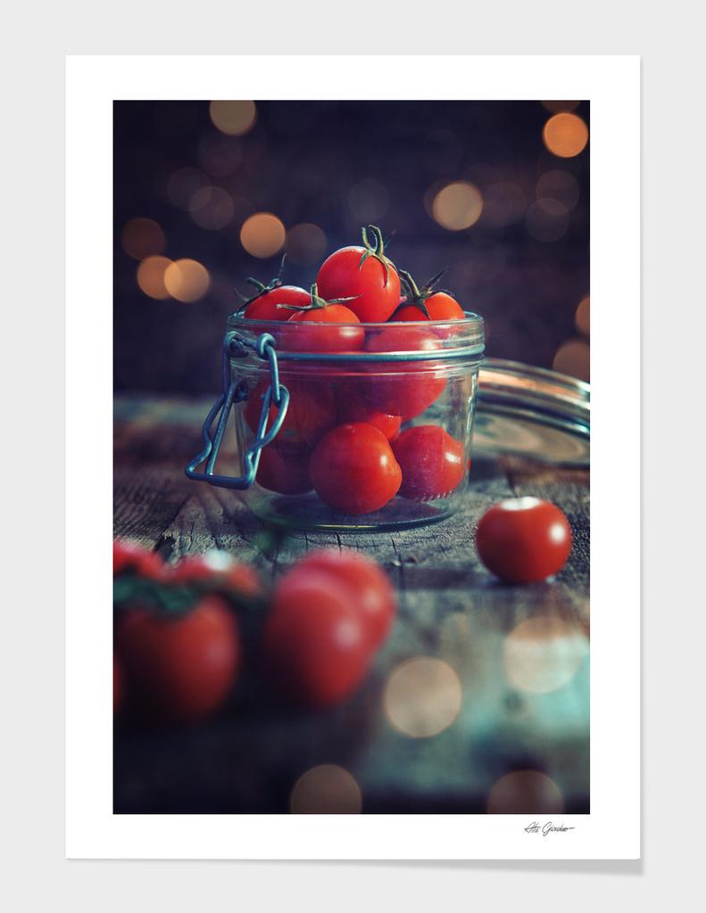 Jar of tomatoes