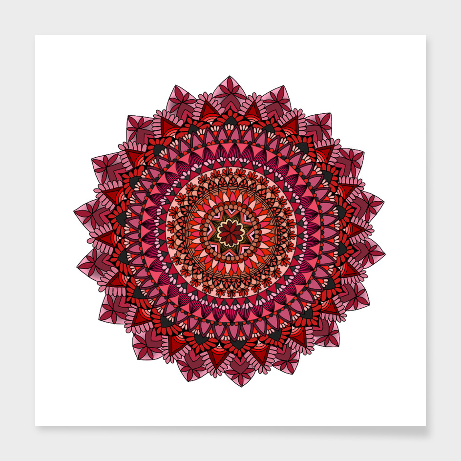 Red Moon Mandala