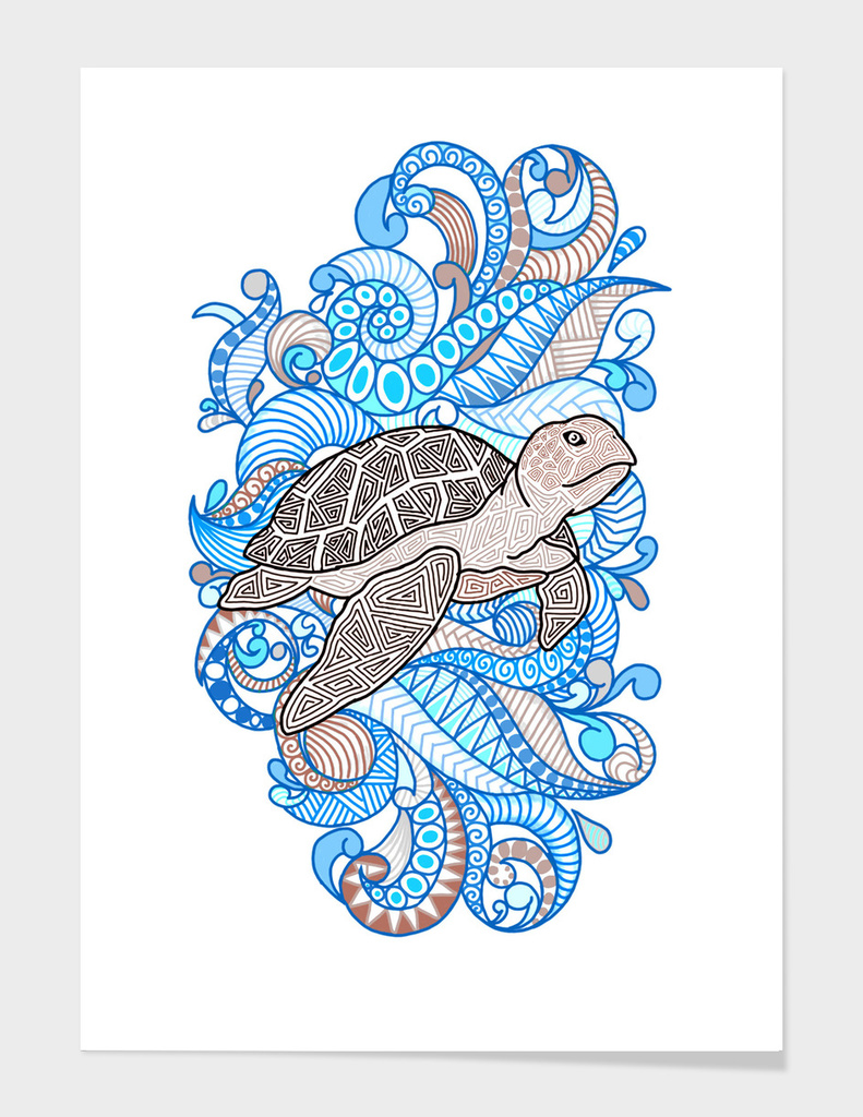 Turtle - Just Keeps Swimming
