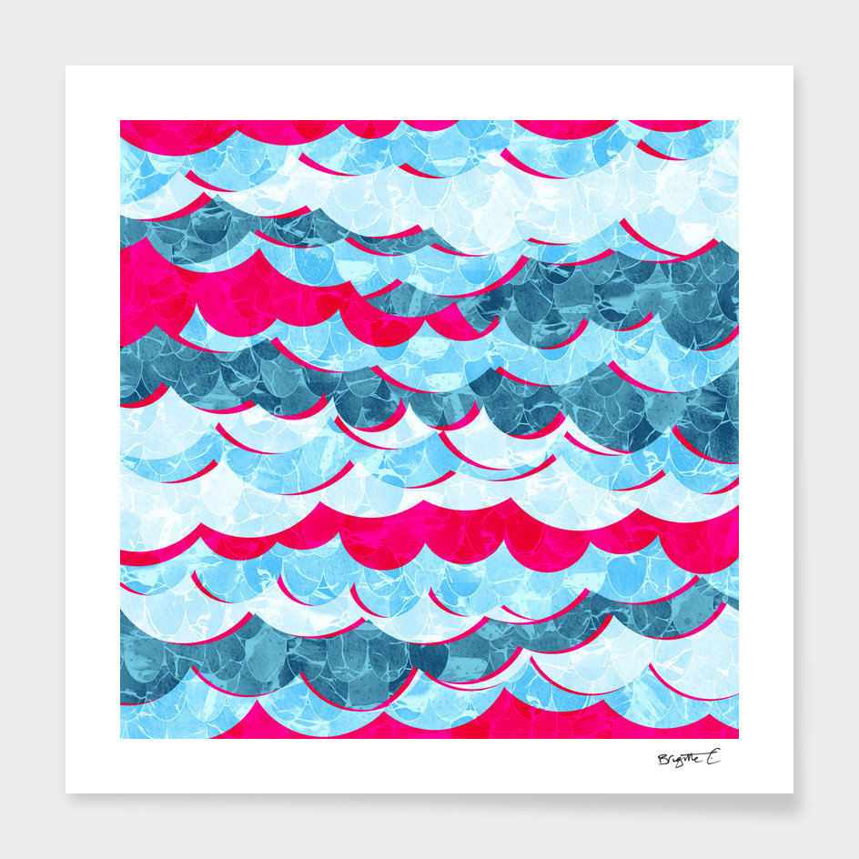 Abstract Sea Waves Design