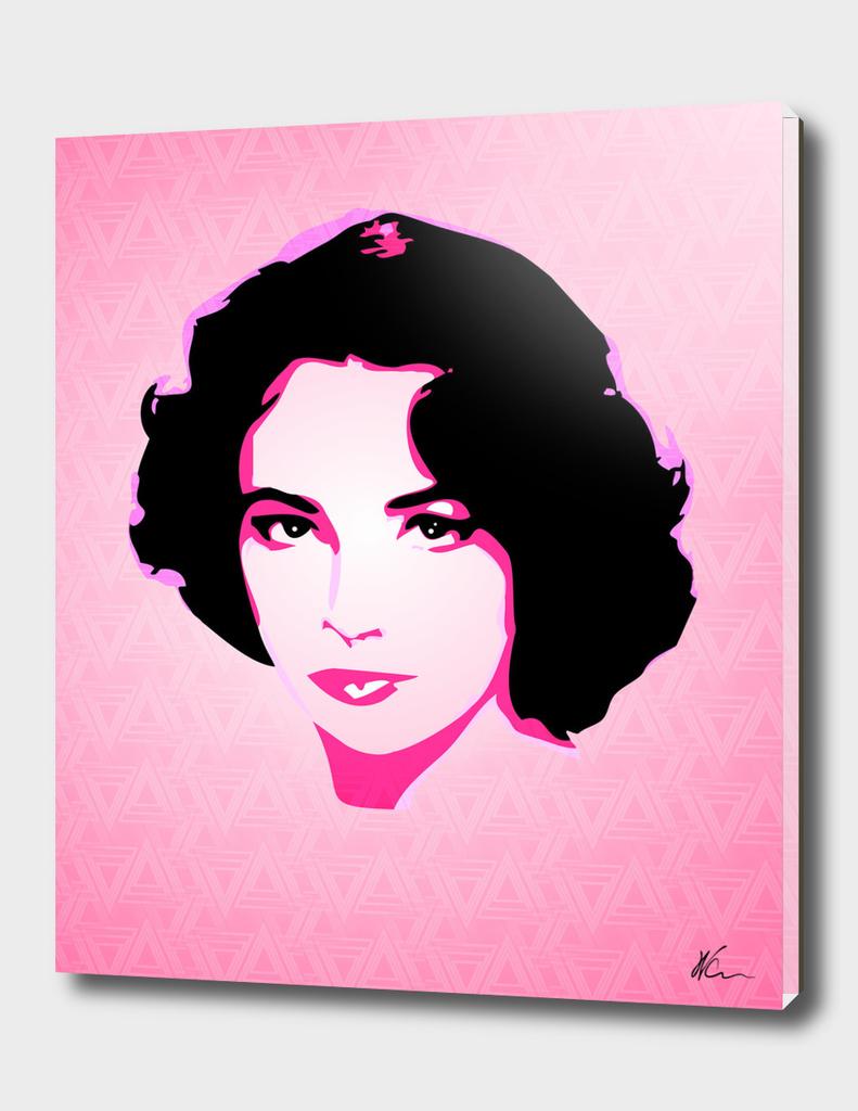 Saint Elizabeth Taylor | Pop Art