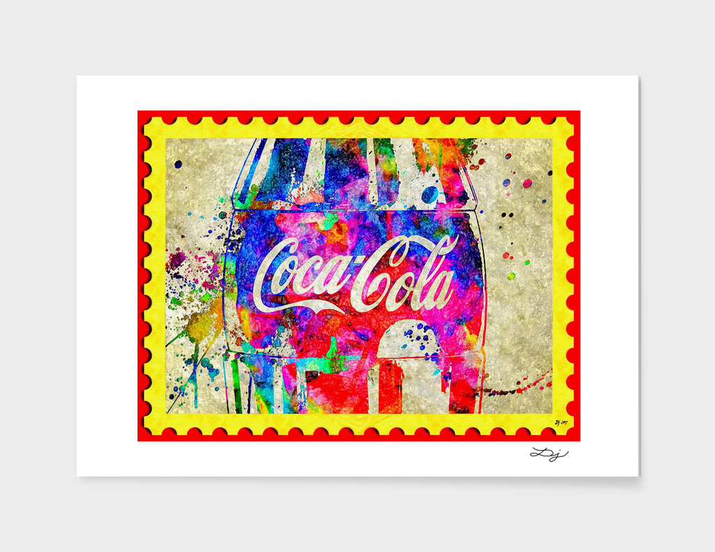 Postage Stamp Coke