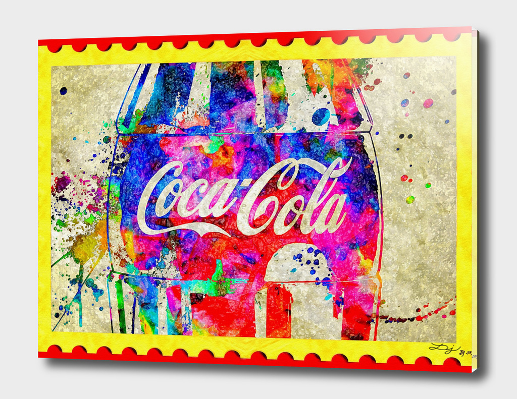 Postage Stamp Coke