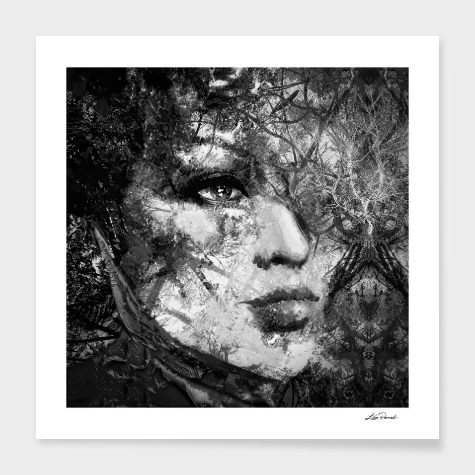 Black and White Nature by Lika Ramati