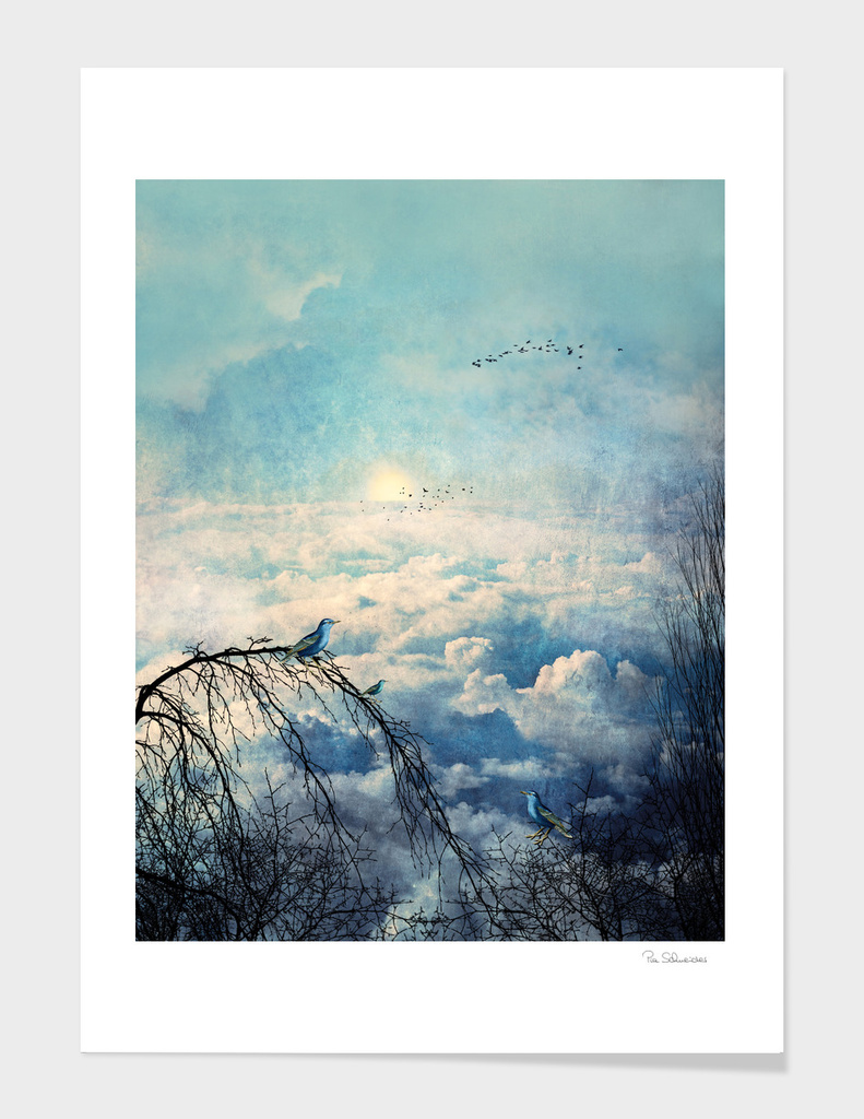 HEAVENLY BIRDS III-A