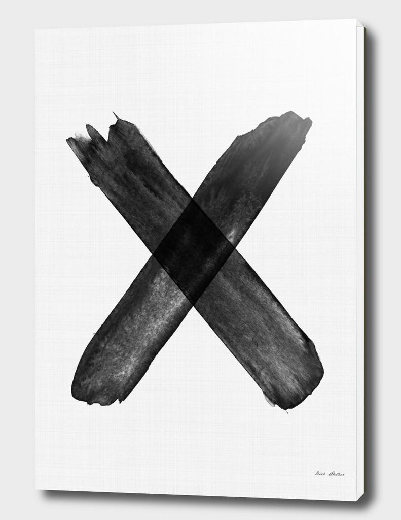 Brush Stroke X