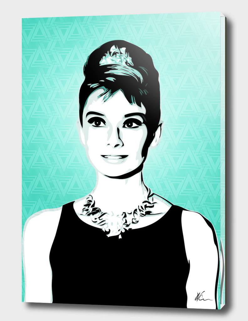 Audrey Hepburn | Pop Art