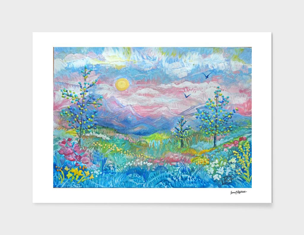 Pastel Dreamscape 1