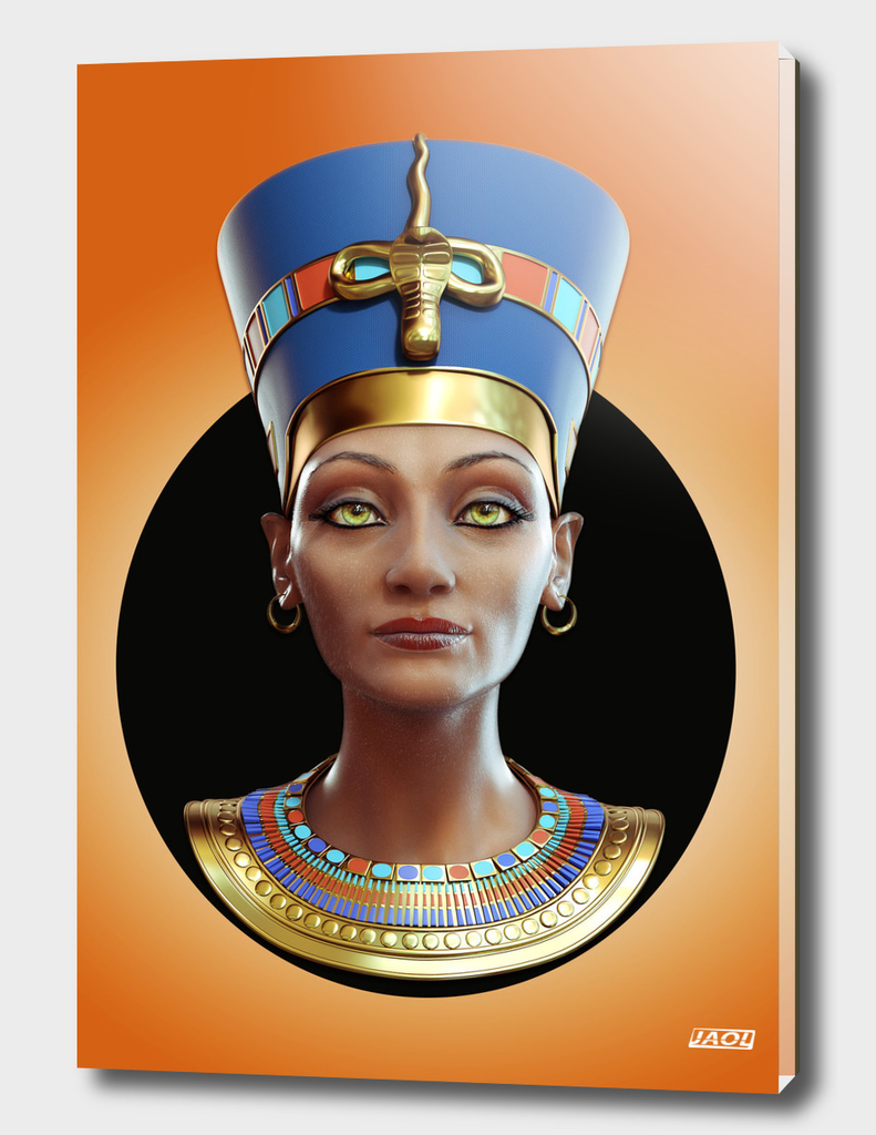 Queen Nefertiti Front