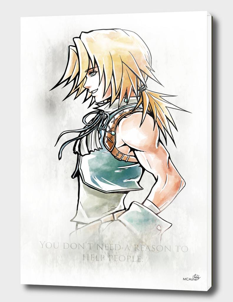 Zidane Artwork Final Fantasy IX