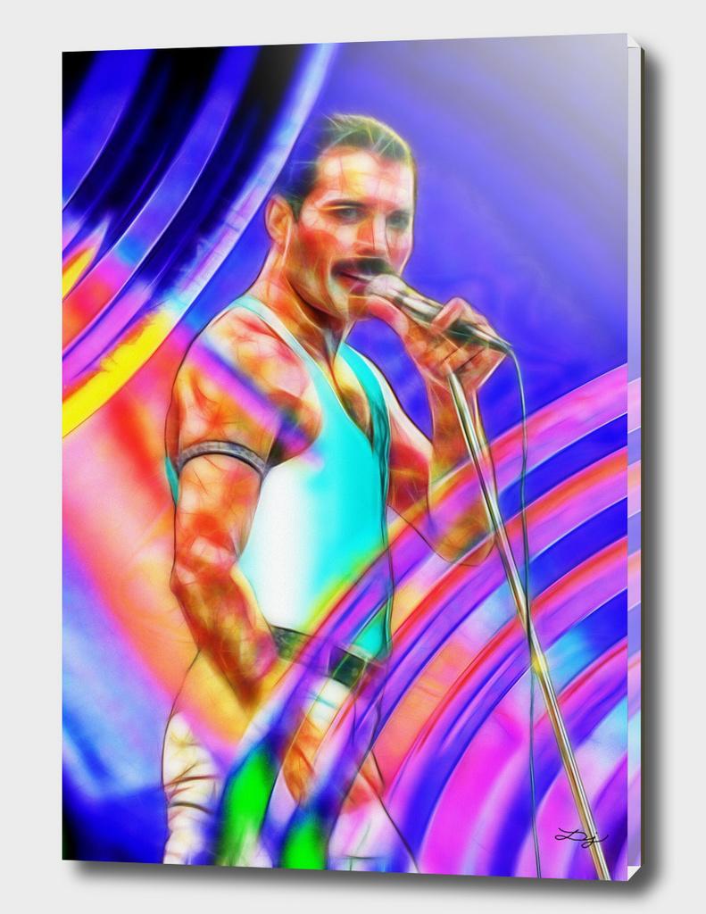 Freddie Singing