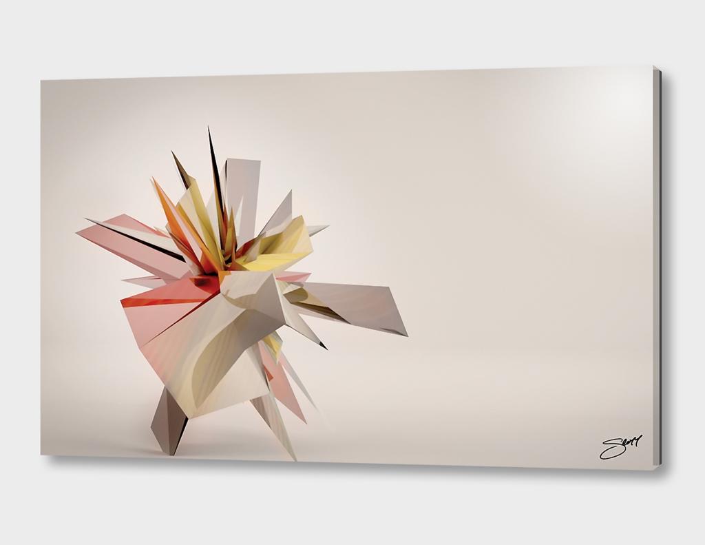 Mondrian Rearranged 3D