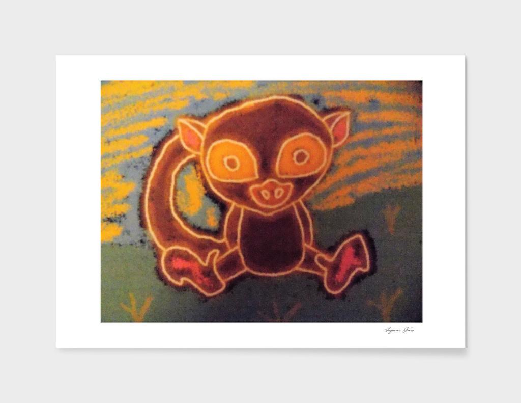 Lovable Monkey