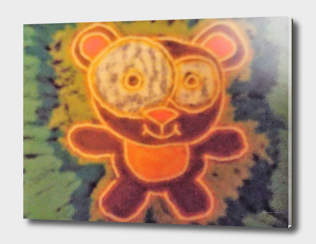 Ted the Teddy Bear By Suzanne