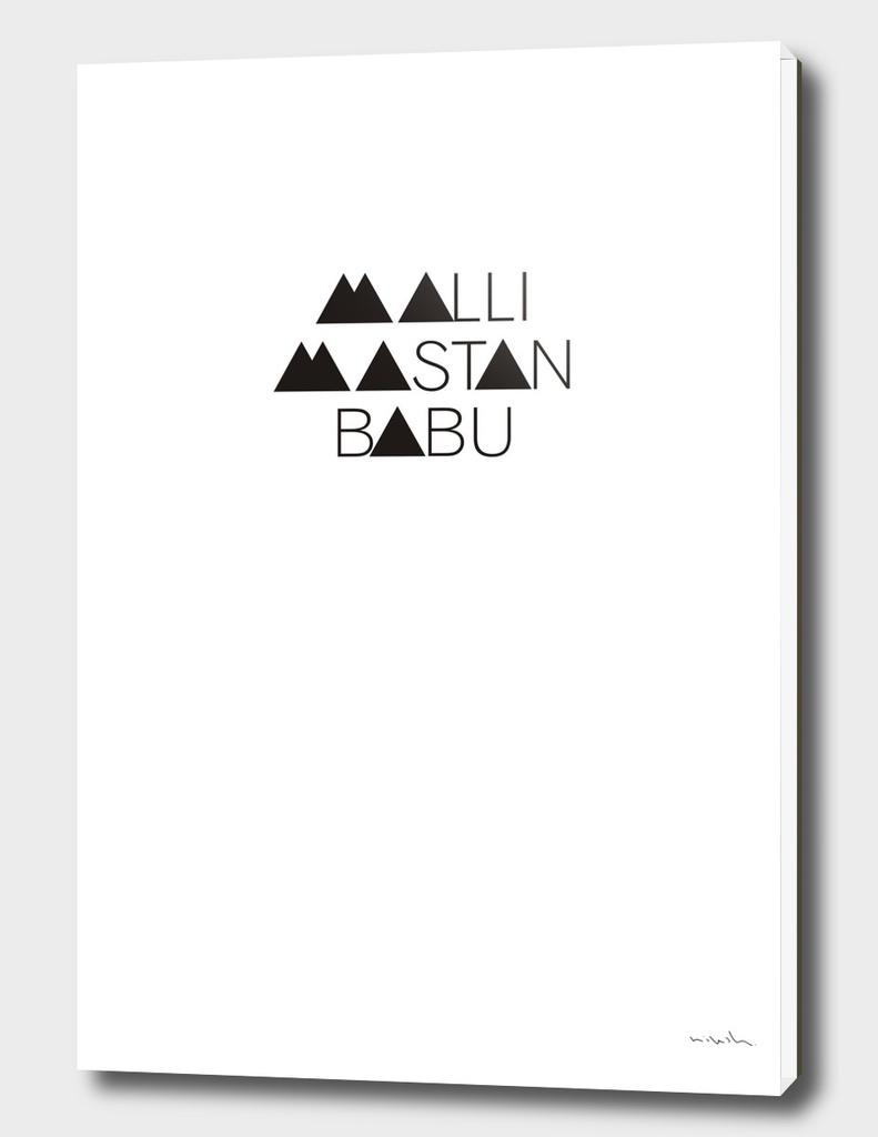 Tribute - Malli Mastan Babu