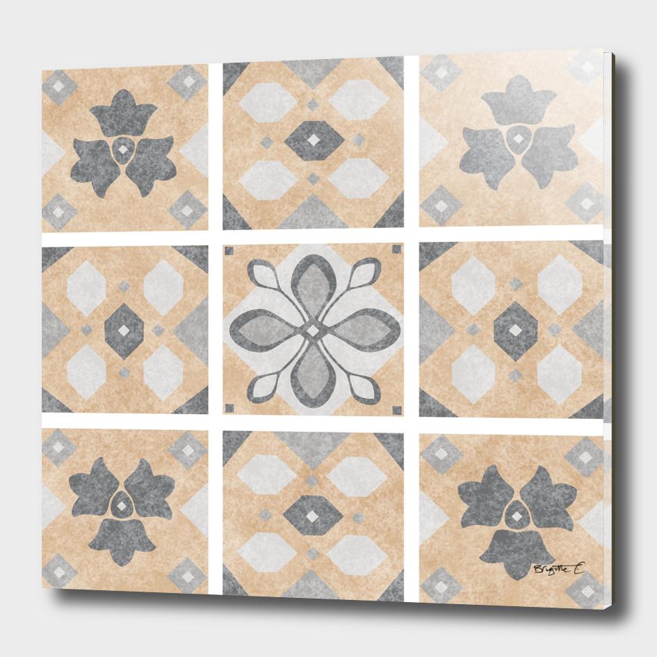 Terracotta Vintage Tiles Design