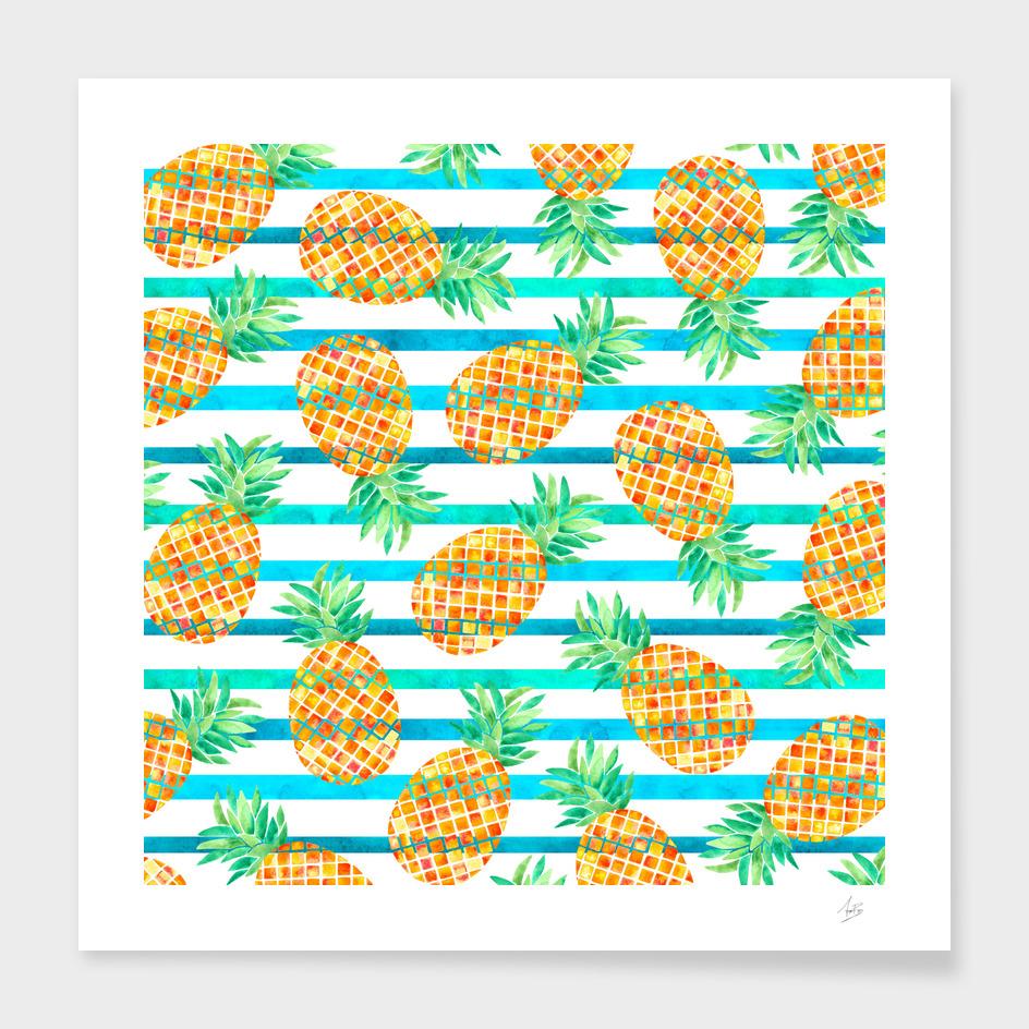 Pineapple Sea Stripes