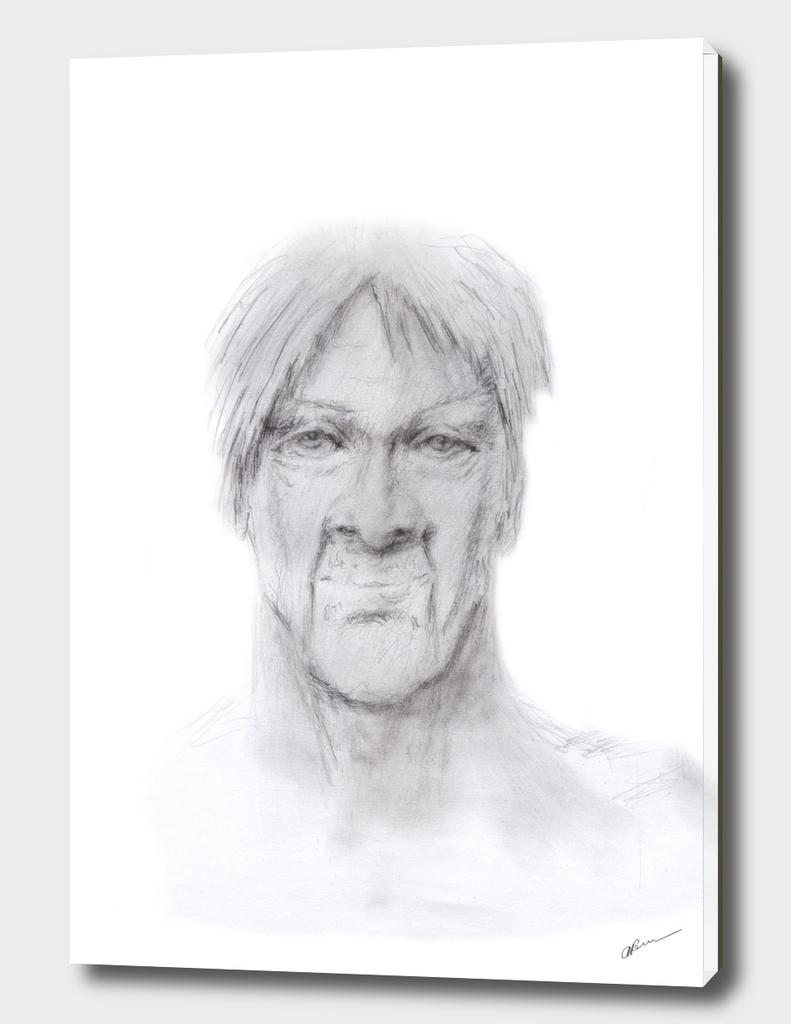 masculine man face