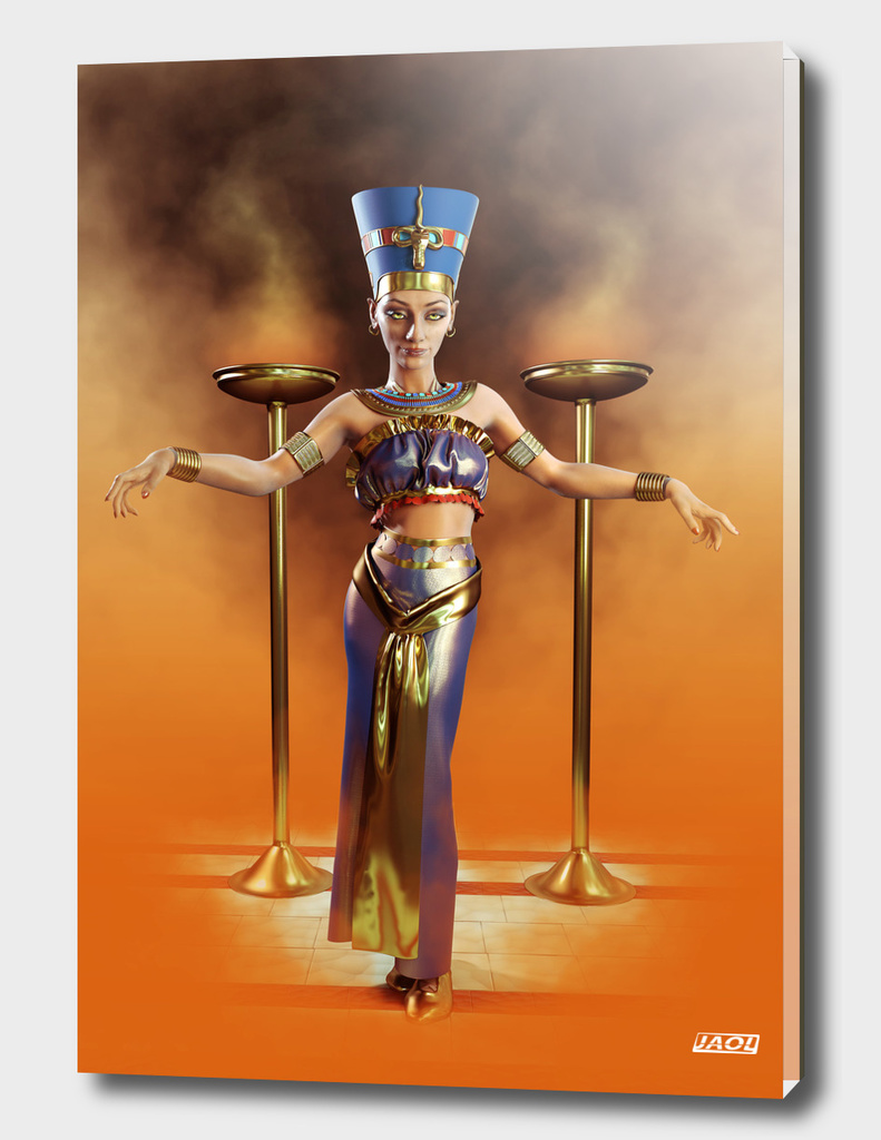 Queen Nefertiti full body